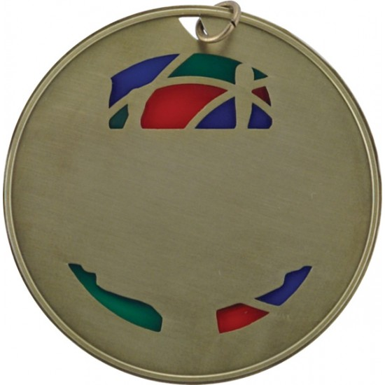 """Stained Glass - Football - 2,5"""""""