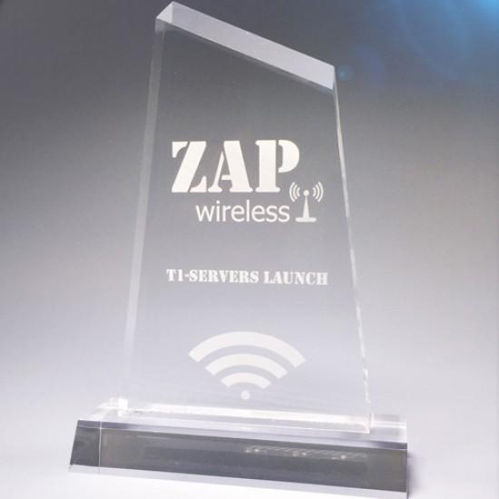 Zap - Clear Acrylic - Medium