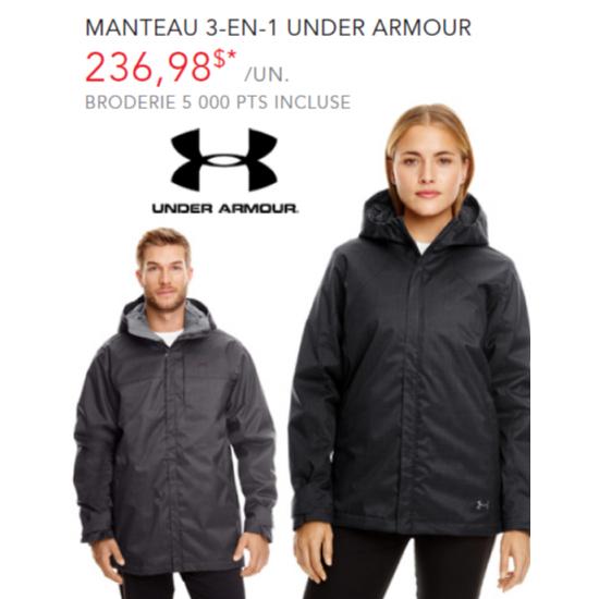 Manteau 3-en-1 Under Armour - Homme