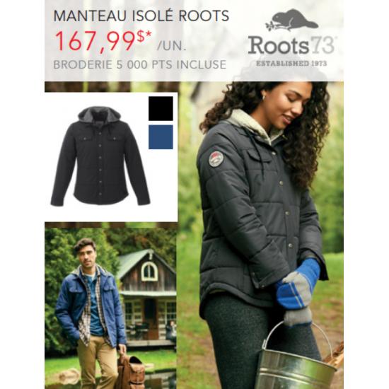Manteau Roots - Homme
