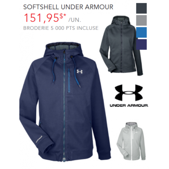 Coquille souple Under Armour - Femme