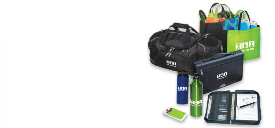 Promotional items branded just for you!